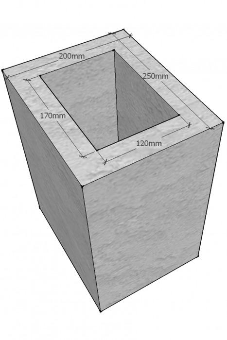 Блок вентиляционный, Vent, одноходовой, картинка 1