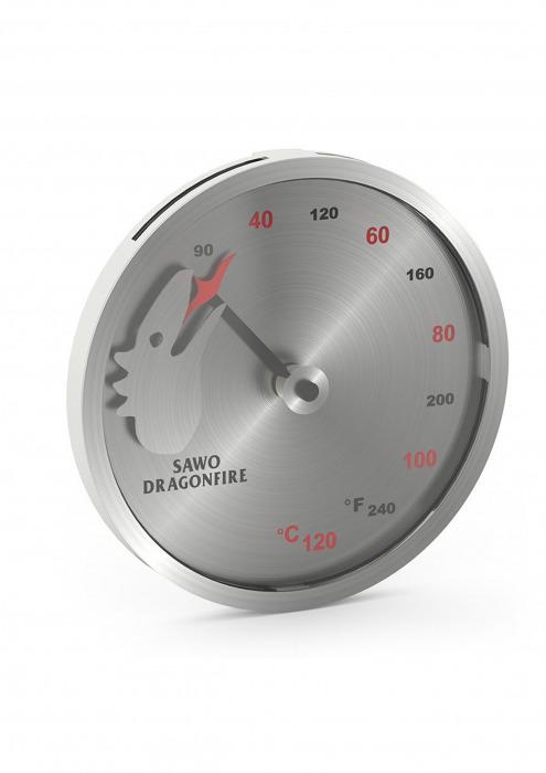 Термометр SAWO 232-TM-DRF Dragonfire (нержавейка)