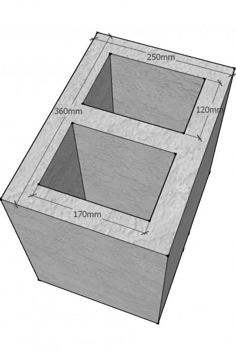 Блок вентиляционный, Vent, двухходовой, картинка 1