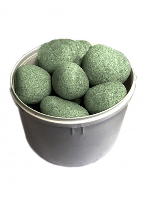 Камни для бани, жадеит шлифованный, 20 кг