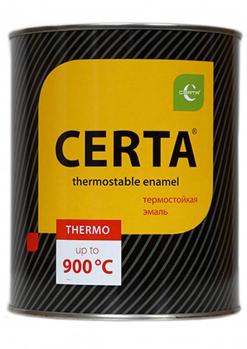 """Эмаль термостойкая, """"Церта"""", 0,9 кг"""