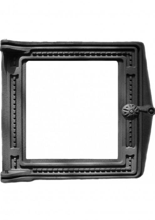 Дверка топочная ДТ-4С, со стеклом