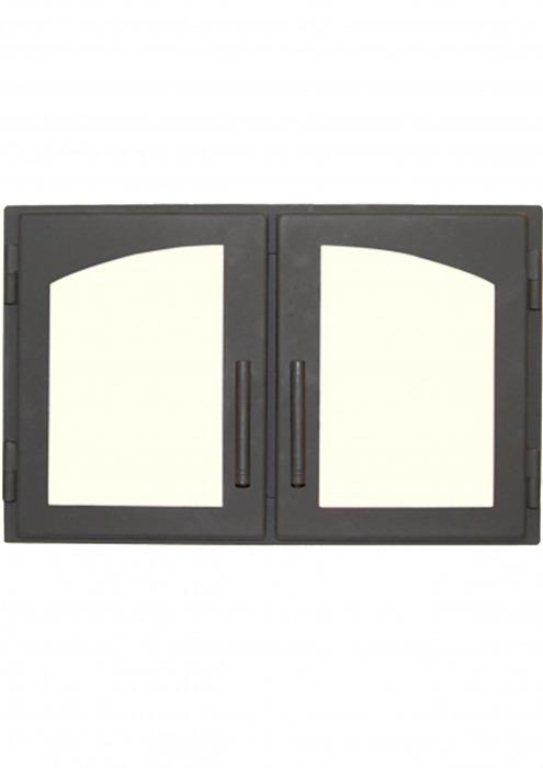 Дверь печная ДВ544-2А, сталь, картинка 1
