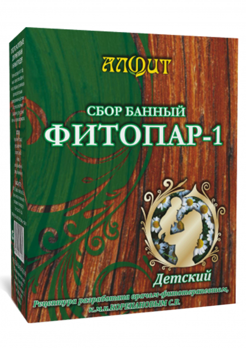 """Фитосбор банный """"Фитопар-1"""", детский"""