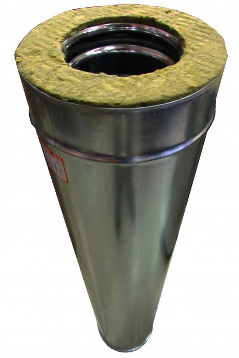 Сэндвич-труба, 115/200, н/оц, 1 м (для вентиляции)