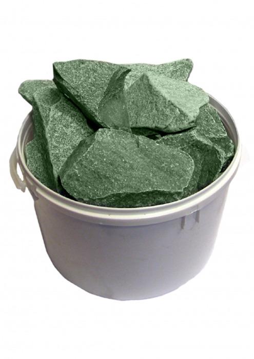Камни для бани, жадеит колотый, 20 кг
