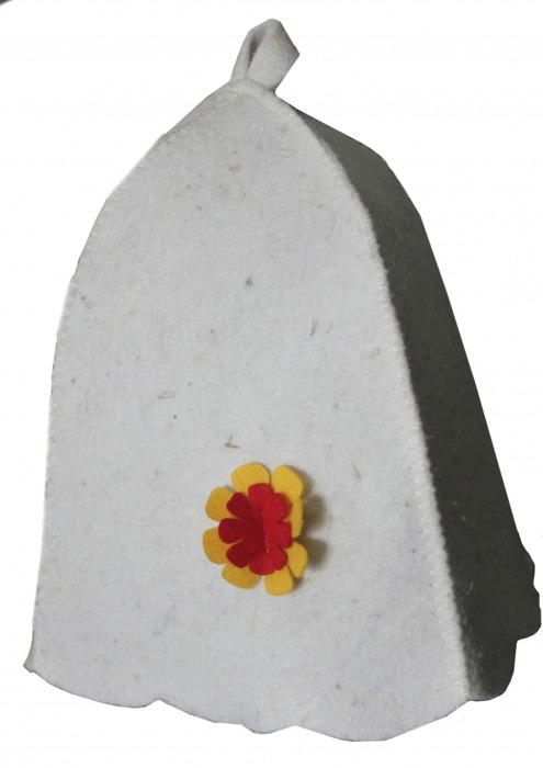 Колпак или шапка для бани и сауны (Женская)