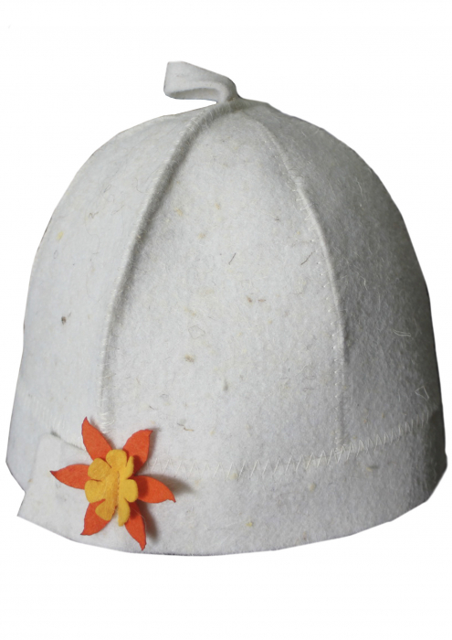Колпак или шапка для бани и сауны (Женская 2)