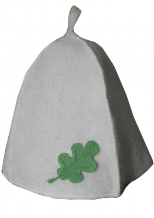 Колпак или шапка с аппликацией для бани и сауны