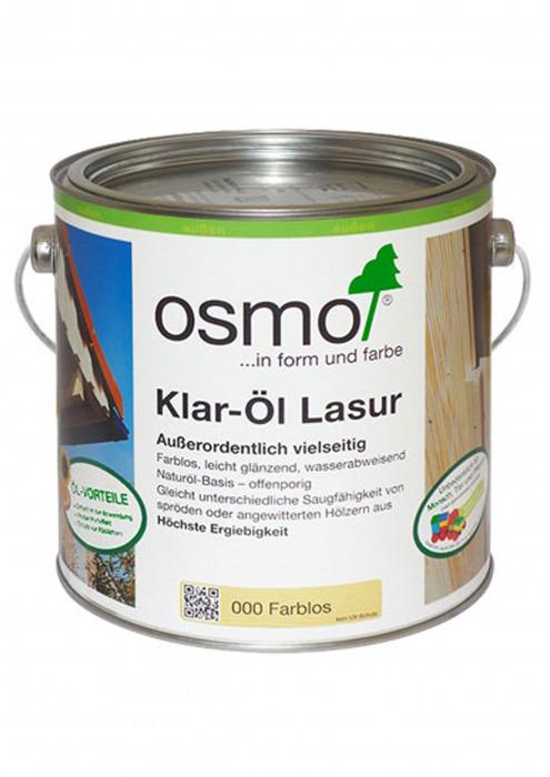 Прозрачная лазурь - Klar-OL Lasur, 0.75 л