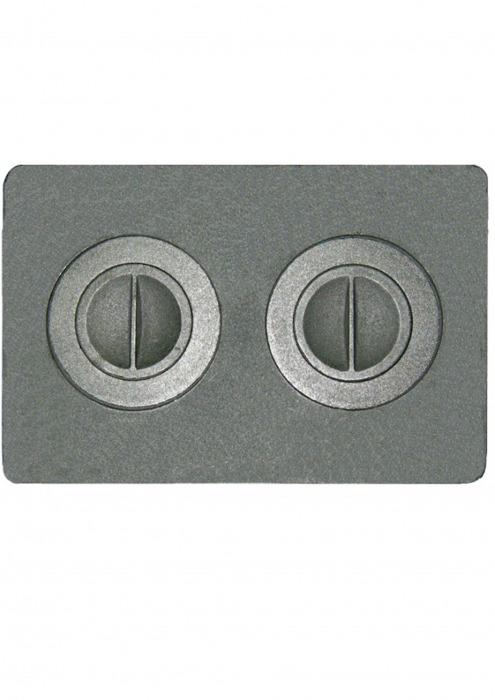 Плита с двумя конфорками, П2-7