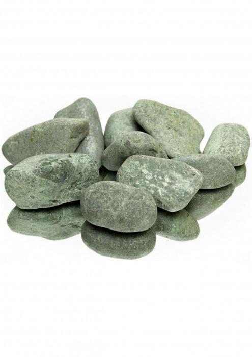Камни для бани, порфирит шлифованный, 10 кг