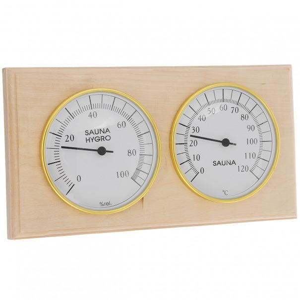 """Термогигрометр """"Банная станция"""",  2 в 1"""