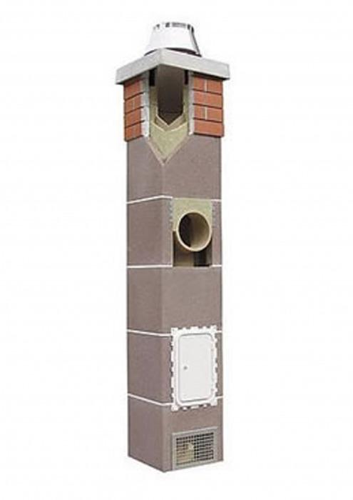 Керамический дымоход одноходовой, Schiedel Uni