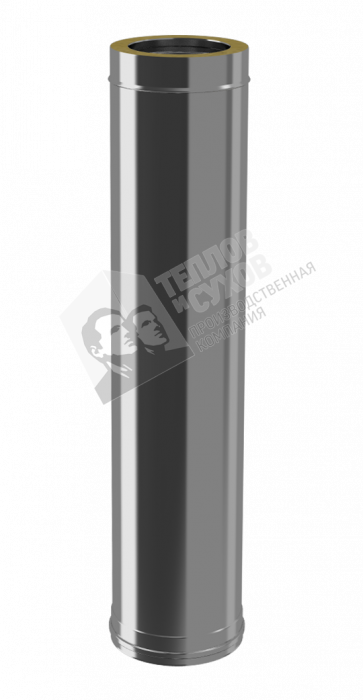 Труба Термо ТТ-Р L1000, 430, 0,8/430, 0,5, d 120/180, картинка 1