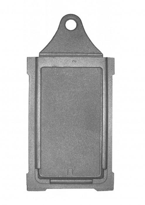 Задвижка печная (укороченная), ЗВ-3У