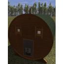 Баня-бочка, 2,2х3 м, картинка 2