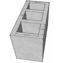 Блок вентиляционный, Vent, трехходовой, картинка 1