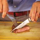 Нож для стейка с деревянной ручкой, картинка 3