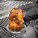 Подставка для запекания курицы на банке с пивом (нержавеющая сталь), картинка 1