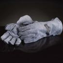 Жаростойкие рукавицы для гриллинга (2 шт.) Натуральная воловья кожа, картинка 2