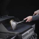 Щетка трехрядная для чистки решеток гриля с латунным ворсом, картинка 3